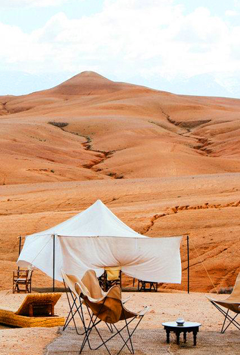 ​Day trip to the Agafay Desert and Atlas Mountains