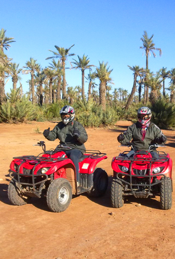 Quad Biking in the Palm Groves of Marrakech